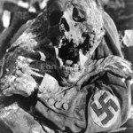 Victim of Dresden bombing during WWII